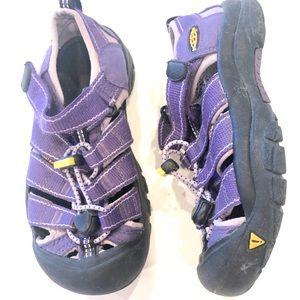 Keen Youth 13 waterproof sandals purple unisex
